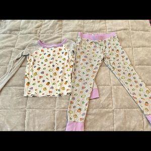 Toca Boca Kid's Size 8 Fruit and Yogurt Pajamas